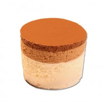 3 Layer Chocolate Mousse Cylinder