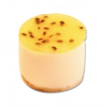 Passionfruit Cream Cheese Cylinder