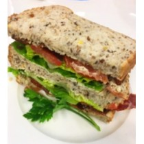 Crispy Bacon Lettuce & Tomato on Mixed Grain