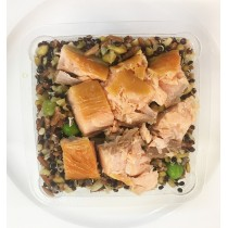Mixed Grains & Salmon Protein Pot