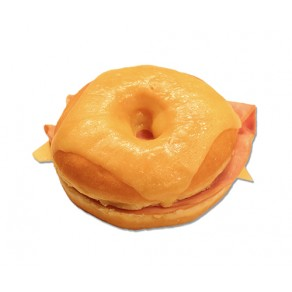 Ham and Cheese Donut