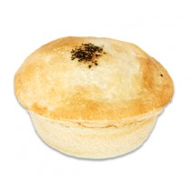 Premium Deep Round Pepper Steak Pie