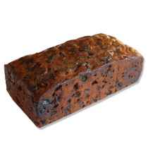 Fruitcake Log Bourbon Maple