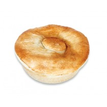 Premium Deep Round Beef Curry Mild Pie