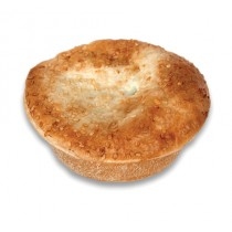 Premium Deep Round Beef and Mushroom Pie