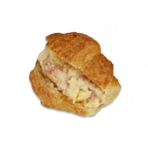 Croissant Ham and Cheese Cocktail