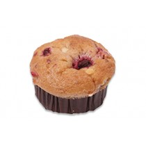 Muffin Medium Raspberry and White Chocolate