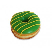 Australia Day Green and Gold Donuts
