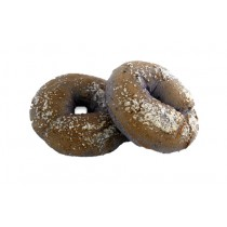 Cocktail Boiled Blueberry Sugared Bagel