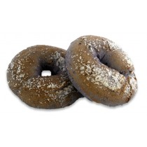 Large Boiled Blueberry Sugared Bagel