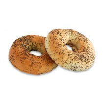 Large Boiled Poppyseed Bagel
