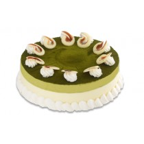 "10"" Green Tea Mousse Cake"