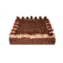 Chocolate Strawberry Temptation Celebration Cake