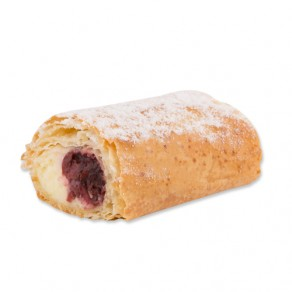 Strudel Portions Cream Cheese and Cherry