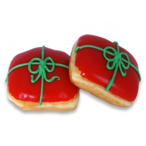 Christmas Present Donuts