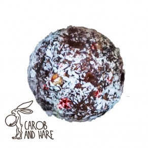 Cranberry and Macadamia Bliss Ball