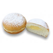Large Custard Ball Donut