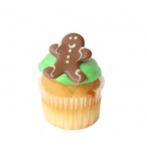 Gingerbread Man Cupcake Cocktail