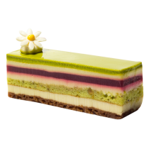 Pistachio Raspberry & White Chocolate Slice