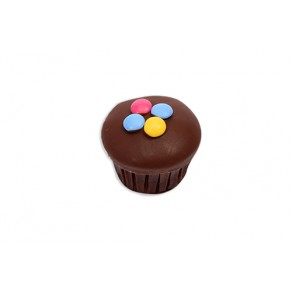 Cupcakes with Smarties Chocolate