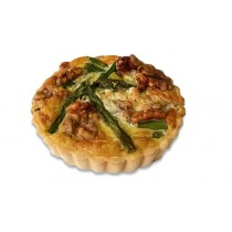 Premium Asparagus, Blue Cheese and Walnut Quiche