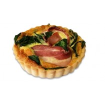 Premium Baby Spinach and Bacon Rasher Quiche