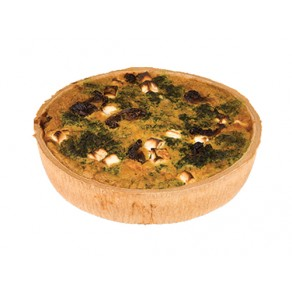 Large Spinach, Feta, Sundried Tomato Quiche