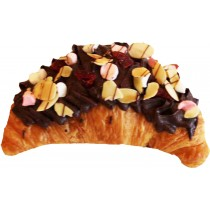 Topped Croissant Rocky Road