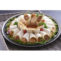 Wraps Mixed Platter 30 Pieces