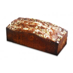 Citrus Almond Loaf Sliced