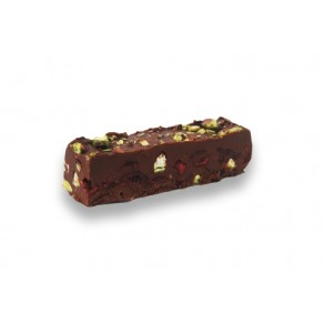 Finger Slice Chocolate, Cranberry and Pistachio Crunch