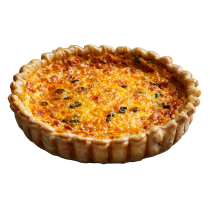 Bacon & Egg Family Quiche