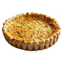 Mixed Veggie Family Quiche